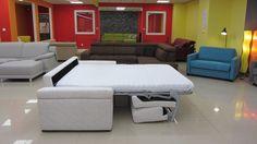 Steel XXL - rozkladacia sedacia súprava na každodenné spanie Outdoor Furniture Sets, Outdoor Decor, Couch, Steel, Bed, Home Decor, Settee, Decoration Home, Sofa