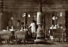 Escola para negros, USA, 1927