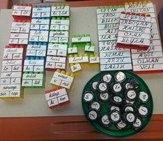 Legolarla heceleri birleştirerek kelime oluşturma