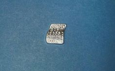 Silver Lottery Ticket Charm