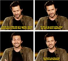 "#Richard #Armitage. THAT IS THE LINE THAT IS IN ED SHEERAN'S ""I SEE FIRE"" OMG MIND BLOWN"