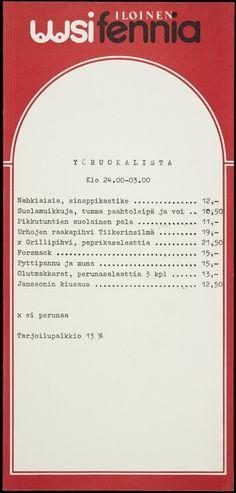 Ravintola Fennia. | Hakutulokset | Finna - Helsingin kaupunginmuseo