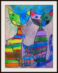 85 Best Rosina Wachtmeister Art Images Cat Art Art Z Arts
