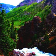 Booth Falls - one of our favorite hikes | Vail, CO
