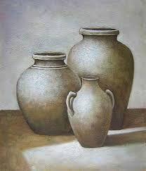 Resultado de imagen para pinturas de vasijas y cacharros