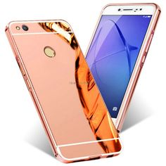 2 in 1 Detachable Metal Aluminum Bumper Frame For Huawei Lite 2017 Case With Mirror Cover Thin Hard Back Coque Funda Capinha P8 Lite, Aluminum Metal, Mobile Cases, Phone Cover, Phone Accessories, Mobiles, Metallica, Smartphone, Accessories