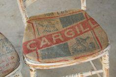 Grain-Sack Upholstery
