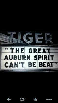 No it can't! War Eagle!