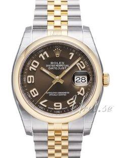 Rolex Datejust 36 Brun/Stål Rolex Datejust, Rolex Watches, Accessories, Brown