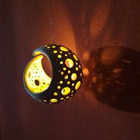 Latest No Cost Ceramics art lamp Ideas Lampe – Firefly / Anbieter Waren Fler. Ceramic Clay, Ceramic Painting, Ceramic Pottery, Clay Art Projects, Ceramics Projects, Modern Ceramics, Contemporary Ceramics, Diy Clay, Clay Crafts