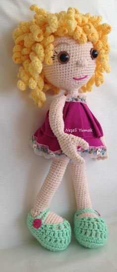 amigurumi doll, crochet, knitting