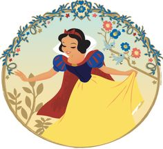 Dreams Come True / stevethompson-art: Snow White - Steve Thompson (C)DISNEY