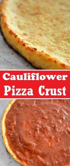 Cauliflower Pizza Crust that tastes delicious and is healthy, low carb and gluten-free. | Recipe on sumofyum.com #healthy #lowcarb #cauliflower #pizza #keto #glutenfree #dinner #crustpizza