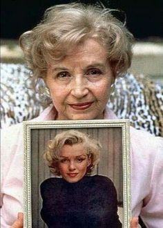 mariyln mnroe half sister   ... Baker Miracle is 92 today. She is the half sister of Marilyn Monroe