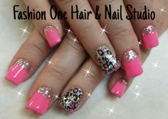 Animal print in pink