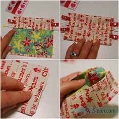 I love these FAST fun projects..Read on .... Baby Lock has tons of projects and I spotted this super adorable tissue holder video. They used your serger, but if you don't have one.. here are my phot