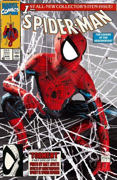 Character: Spider-Man (Peter Parker) / From: MARVEL Comics 'Spider-Man #1' by Todd McFarlane / Cosplayer: Unknown