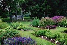 Herb & flower gardens