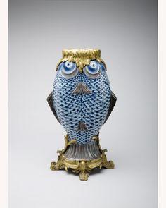 "Bronze Mounted Chinese Porcelain ""Double-Fish"" Vase Circa 1840 - Asian - Porcelain - Shop"
