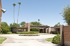 Serious Sinatra fanatics will most likely freak out to learn his Palm Springs estate is available as a (high end) vacation rental.  HOTNESS.