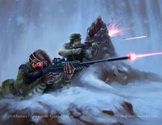 Star Wars Imperial Assault Return to Hoth by AnthonyDevine.deviantart.com on @DeviantArt