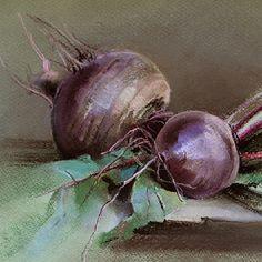 Любимый овощной этюд. Свекла