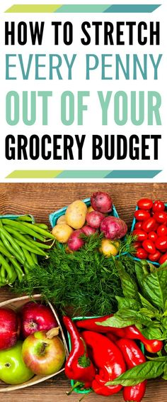 Stretching your grocery budget