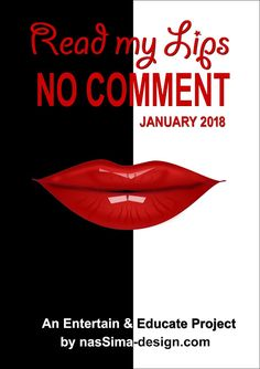 Lily Amis: Read My Lips, No Comment Magazine!