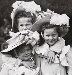 Olga, Maria, Tatiana - three of the four Romanov Princesses who were murdered as young women for the crime of just being princesses.