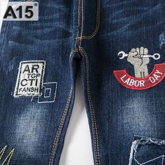 Children Jeans Kids Pants Boy Jeans Pants Kids Trousers Navy Blue Spring Autumn 2017 New Baby Girl Jeans Trousers 3 4 5 6 Boys White Jeans, Girls Jeans, Man Jeans, Teen Pants, Kids Pants, Best Mom Jeans, Baby Girl Jeans, New Baby Girls, Baby Boy