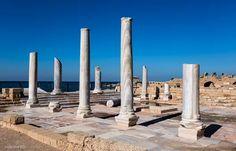 Caesarea Harbor National Park photo by Kaśka Sikora  #Caesarea #Harbor #National #Park #Israel