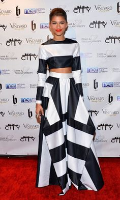 Zendaya. Her Clothes Are Always Fashion Forward...