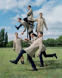 photo by Tim Walker for Aquascutum, f/w 2015
