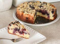 Blueberry Sour Cream Coffeecake
