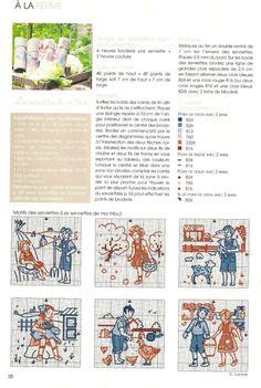 Gallery.ru / Foto # 1 - De fil en Aiguille Carnet de Broderie 6-09 - Labadee