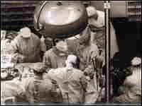 1954--First successful kidney transplant performed on identical twins in Boston by Dr. Joseph E. Murray & team