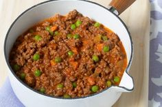 This recipe for savoury mince ragout makes a double quantity, so you can serve half tonight and then freeze and save the rest for another. Minced Beef Recipes, Minced Meat Recipe, Spicy Recipes, Meat Recipes, Cooking Recipes, Savoury Recipes, Recipes Dinner, Dinner Reciepes, Meatloaf Recipes