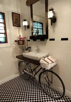 Ideia genial para o banheiro