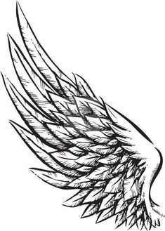 Tattoos for men and women wings tatuajes de alas de angel, t Kunst Tattoos, Bild Tattoos, New Tattoos, Body Art Tattoos, Sleeve Tattoos, Tattoos For Guys, Tatoos, Celtic Tattoos, Tribal Tattoos