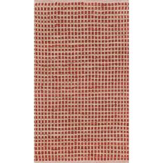 Beautiful red cotton and jute combine to create the Renato rug.  This all natural rug is carefully hand-woven in India with a simple but dashing basket weave design.  The Renato rug is available in the perfect accent size.