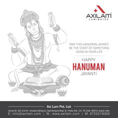 May this Hanuman Jayanti be the start of something good in your life Happy Hanuman Jayanti. Hanuman Jayanthi, Happy Hanuman Jayanti, Modern Kitchens, Your Life, Lord, Artwork, Photography, Work Of Art, Photograph