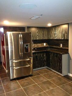 Safari Black And Grey Cabinet Kitchen Cabinet