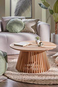 Ellos Home Soffbord Delly höjd 31 cm Natur Möbler Homeroom
