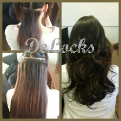 Natashas 3/4 head gold grade microring weft hair extensions. This hair is double drawn and very soft and silky. This method is excellent for adding thickness to your hair. Our gold grade hair is reuseable upto 9 months plus so will save you money in the long run. #savemoney #hairextensions #reuseable #thickhair #countydurham #gateshead #washington #newcastle #southshields #england