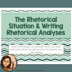 rhetorical situation research paper Rhetorical situation essay - instead of spending time in ineffective attempts, receive professional help here modify the way you do your task with our approved.