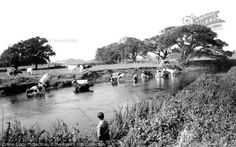 Christchurch, The River Stour From The Francis Frith Collection, a privately-owned archive of over photographs of Britain from that you can browse online for free anytime. New Forest, Bournemouth, Back In Time, Vintage Images, Buses, Old Photos, Farming, Countryside, Britain