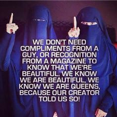 Islam says we are beautiful, and we are queens. Islamic Teachings, Islamic Love Quotes, Muslim Quotes, Islamic Inspirational Quotes, Hijab Quotes, Islamic Images, Islam Muslim, Islam Quran, Islam Religion