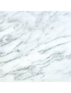 12 in. x 12 in. Arabescato Carrara White Solid Polished Finish Marble Flooring Tile  #Arabescato_Carrara_Marble, #Marble_Flooring_Tile, #12x12_White_Carrara