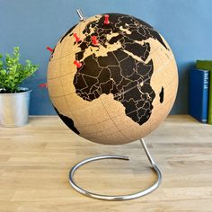 Cork Globe by suck UK