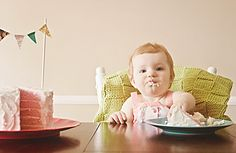 love the cake, and cute little baby!